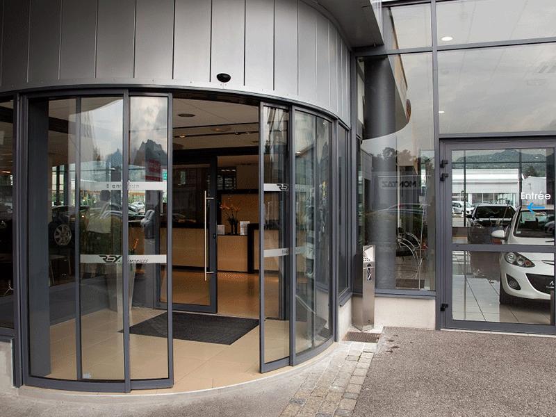Access Pro Fermetures - Porte automatique coulissante