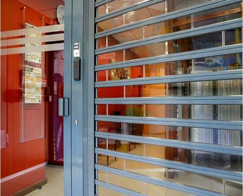 Access Pro Fermetures - Rideau métallique transparent professionnels Nantes